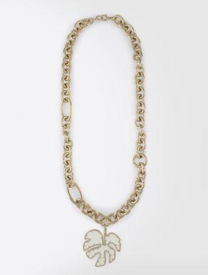 Collier en métal avec pendentif