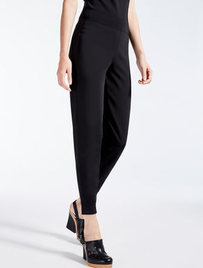 Stretch jersey trousers