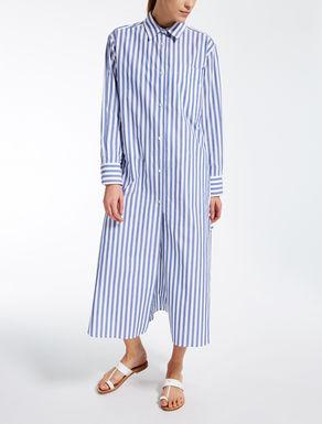 Kleid aus Baumwollpopeline