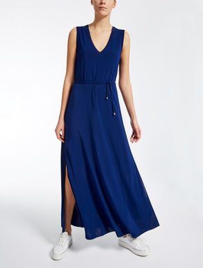 Viscose crêpe dress
