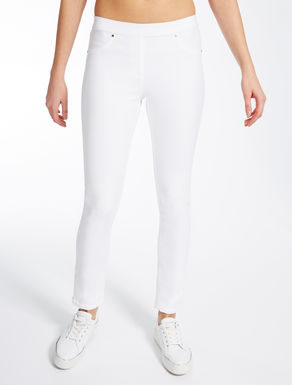 Stretch jersey jeggings