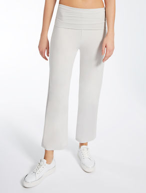 Pantalón de viscosa stretch