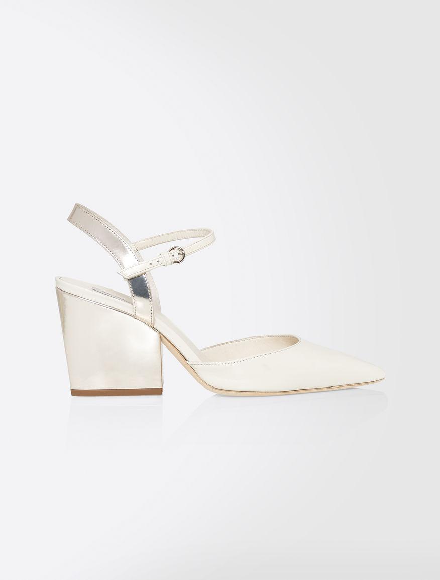 Brushed calfskin sandals