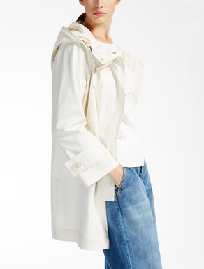 Cotton raincoat