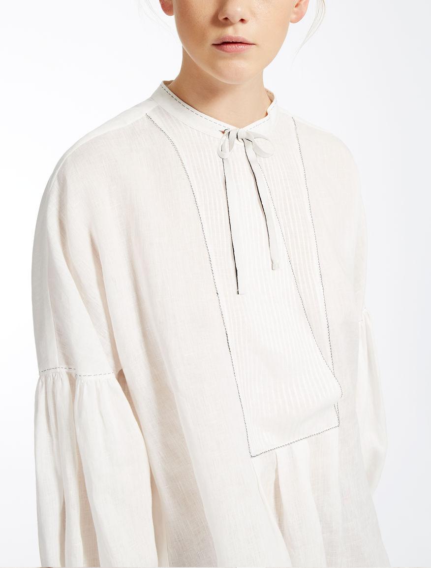 linen shirt white pegola max mara