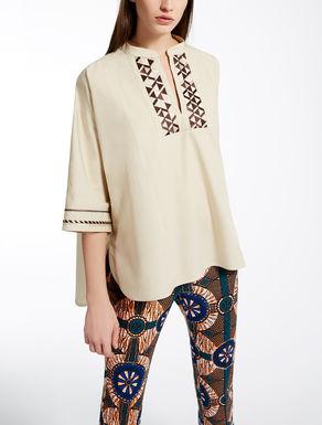 Blusa in cotone