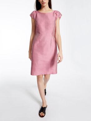 Cotton and silk dress