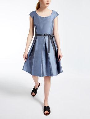 コットン シルクドレス