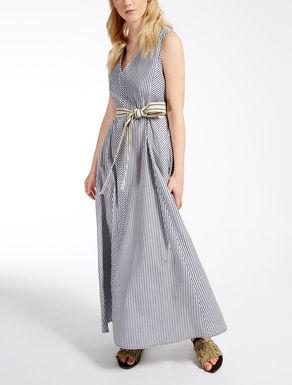 ピュア コットンロング ドレス