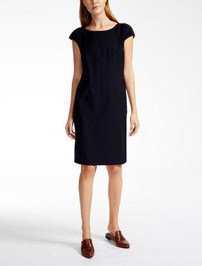 ヴァージンウールビスコース ツイル ドレス