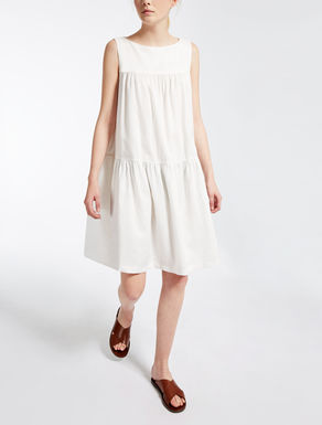 Ramie canvas dress