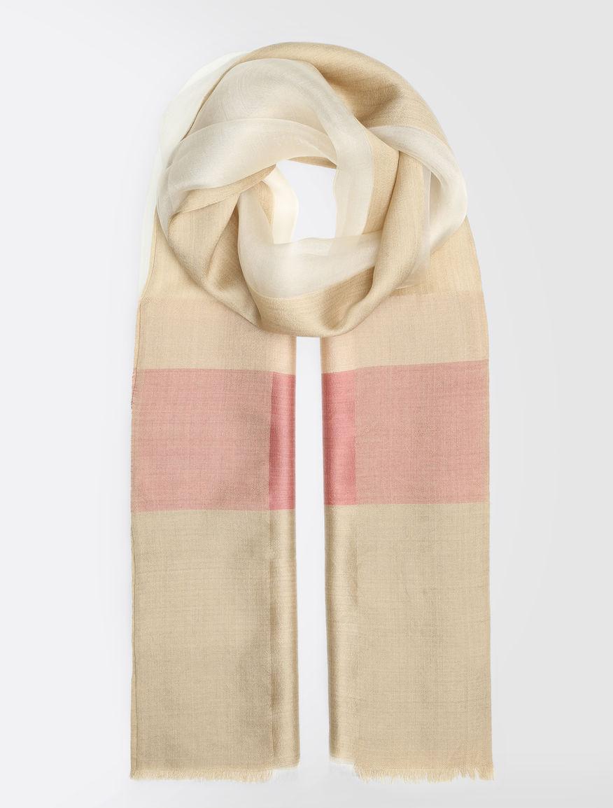 シルク オーガンジースカーフ