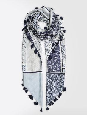 ピュア シルク スカーフ