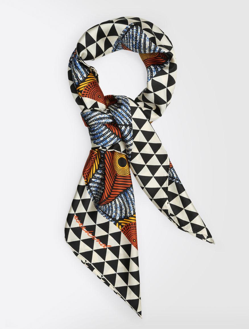 ピュア シルクスカーフ
