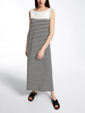 コットン ジャージーロング ドレス