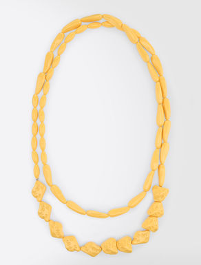 Collier long en résine