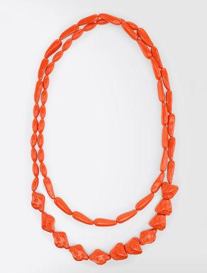 Lange Halskette aus Harz