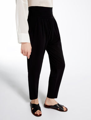 Pantalon en jersey stretch