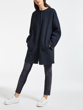 Cappotto reversibile in lana
