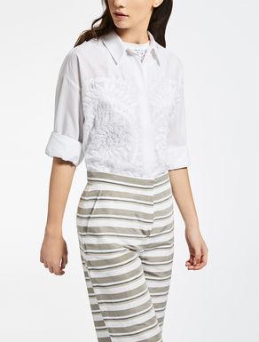 Camisa de tela de algodón