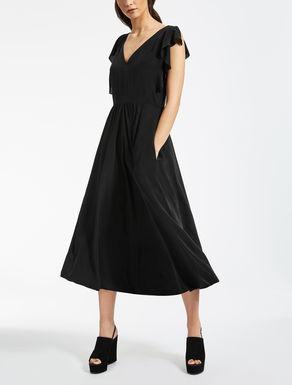 Vestido de crepé de China de seda