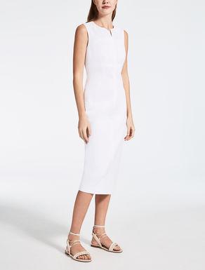 Vestido de gabardina de algodón