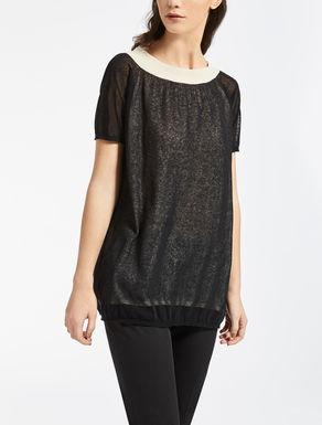 Cotton gauze sweater