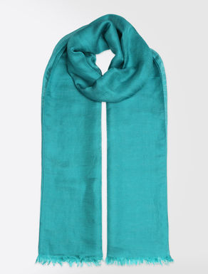 Silk and linen stole