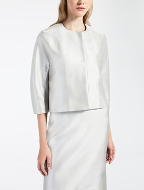 Silk Shantung jacket