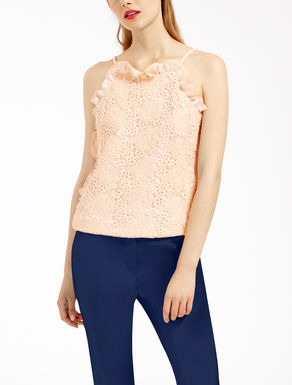 Macramé lace top