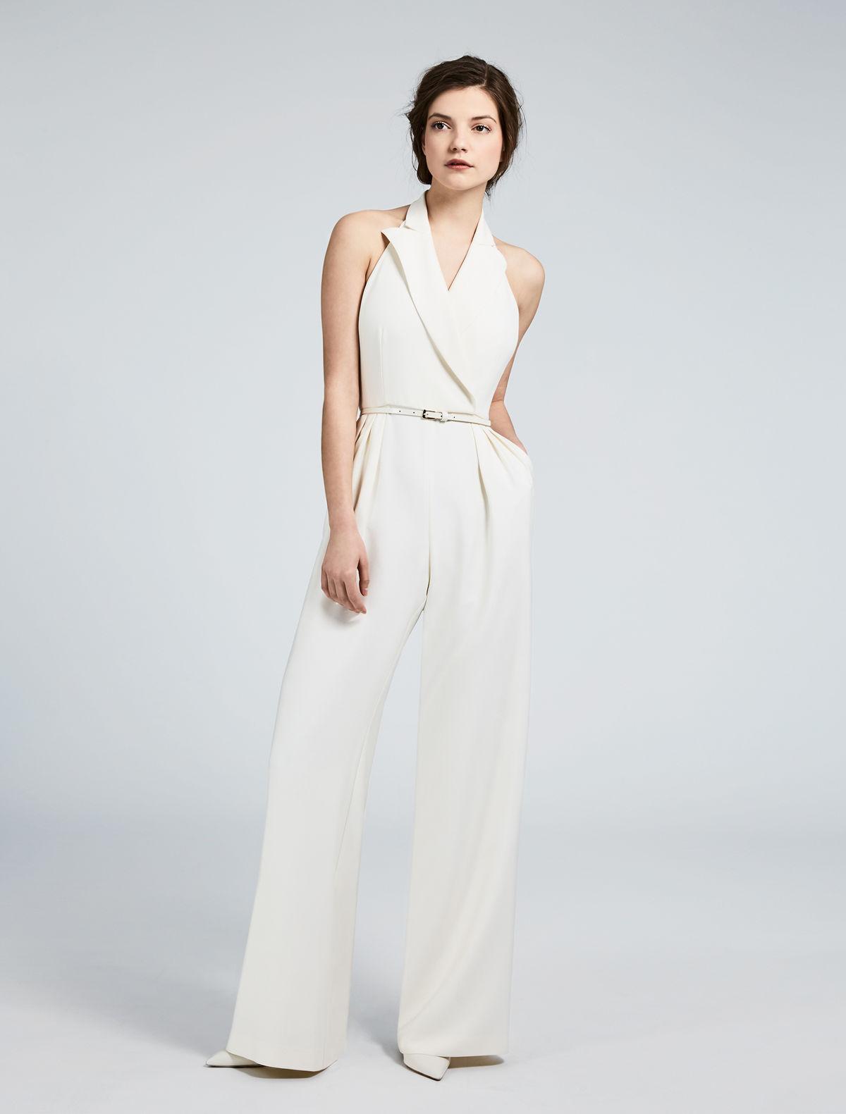 Silk panama jumpsuit