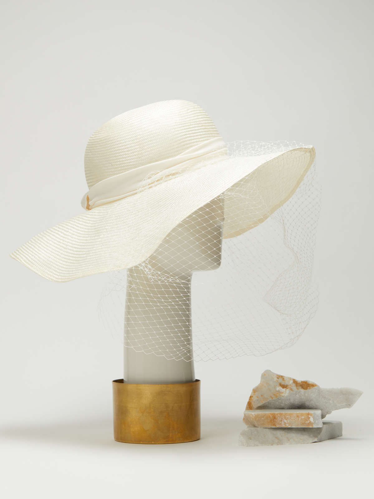 Hat with veil