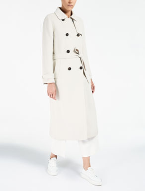 Trench in lana e angora