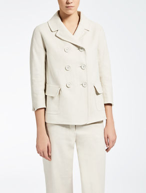 Linen and cotton jacket