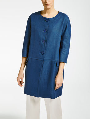 Linen and cotton duster coat