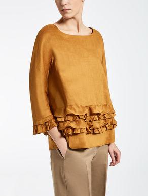 Camicia in tela ramiè