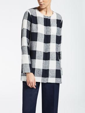 Camicia in tela di lino