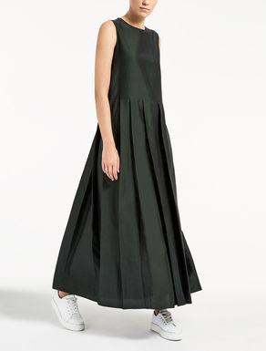 Kleid aus Leinen, Seide und Viskose