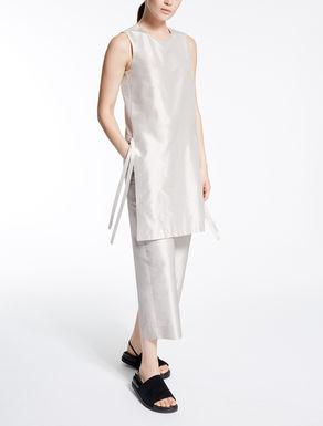 Silk Shantung jumpsuit