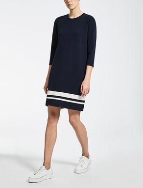 ビスコース ポリエステルニット ドレス