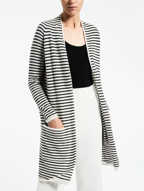 Cashmere and silk cardigan