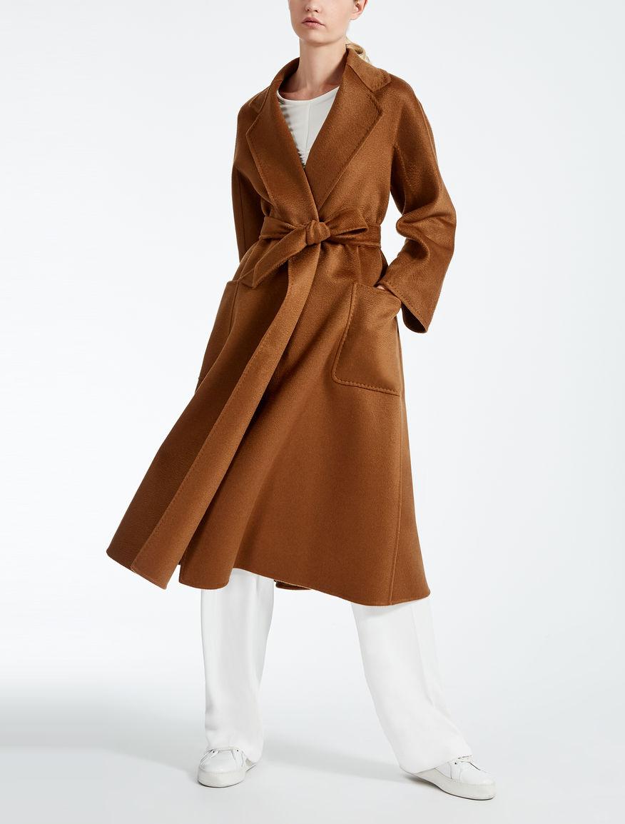 cashmere coat tobacco labbro max mara. Black Bedroom Furniture Sets. Home Design Ideas