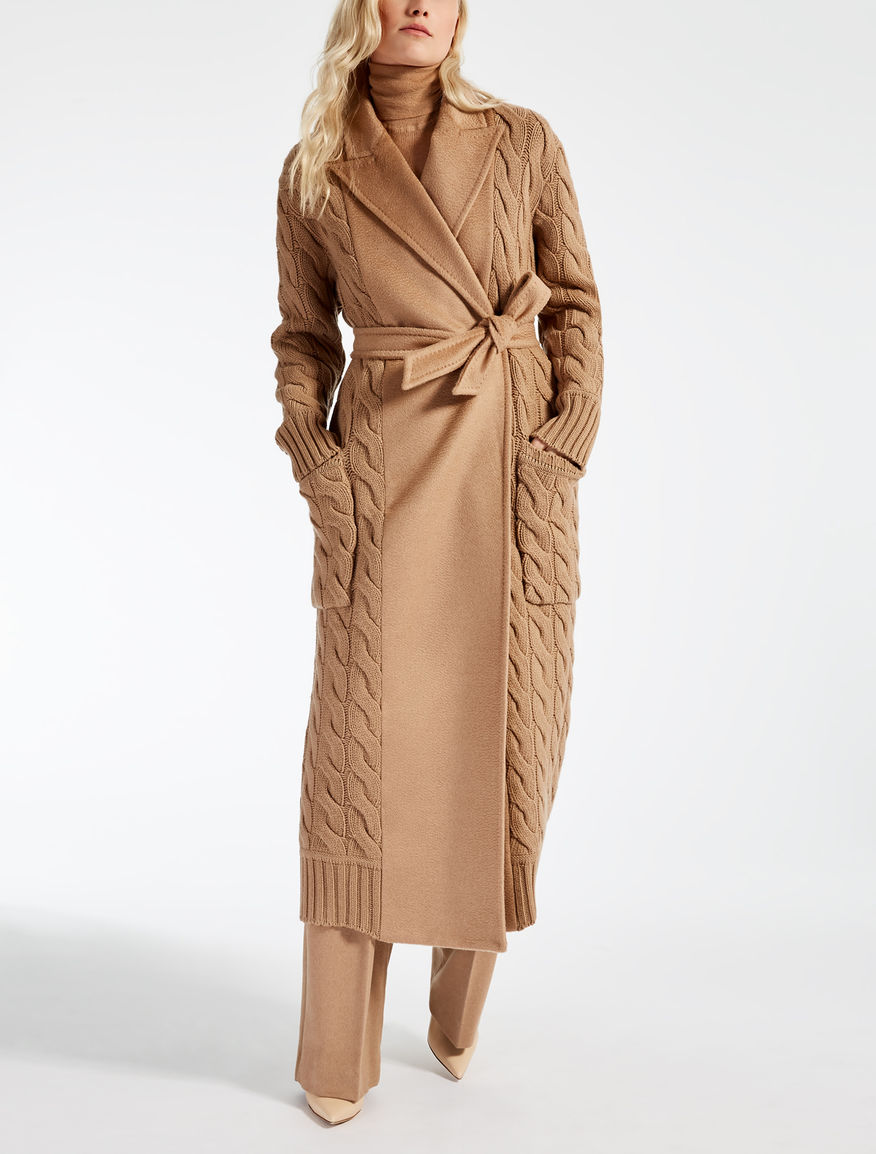 camel coat camel cile max mara. Black Bedroom Furniture Sets. Home Design Ideas