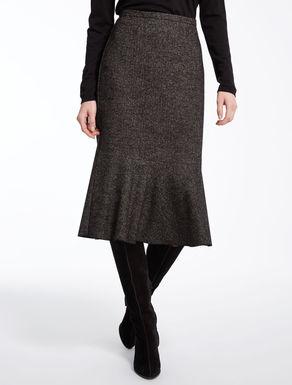 ヴァージンウールツィード スカート