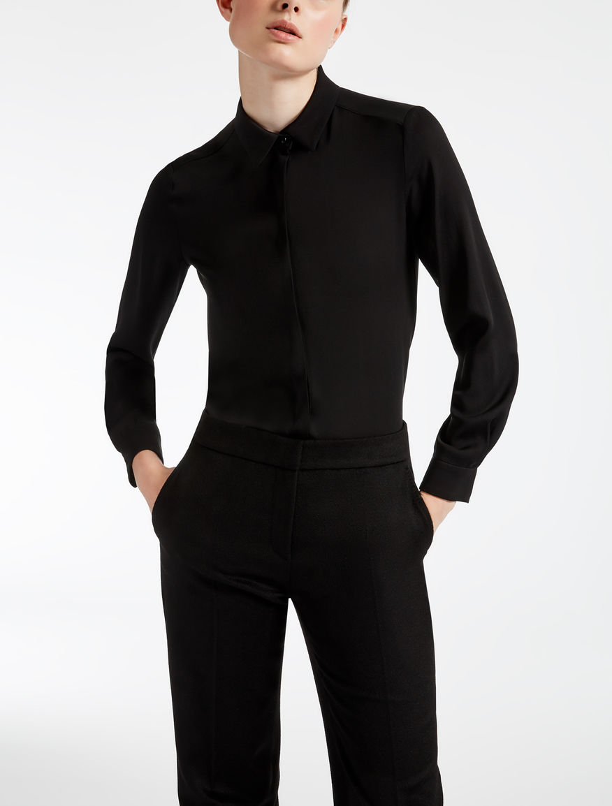 Camisa de pura seda