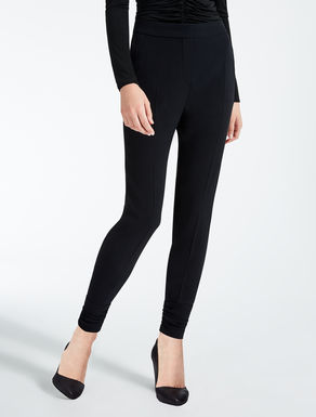 Pantalon avec envers satin