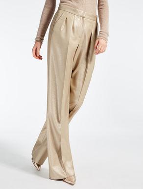 Pantalon en laine et viscose