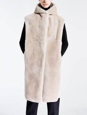 Drop-proof canvas beaver gilet