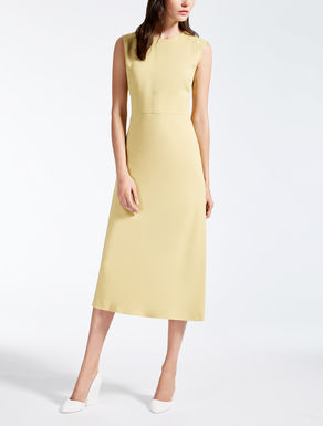 Crêpe envers satin dress
