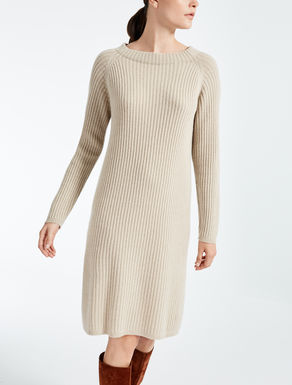 Pure cashmere dress